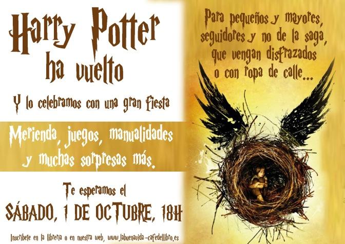 Merienda en el expreso de Hogwarts