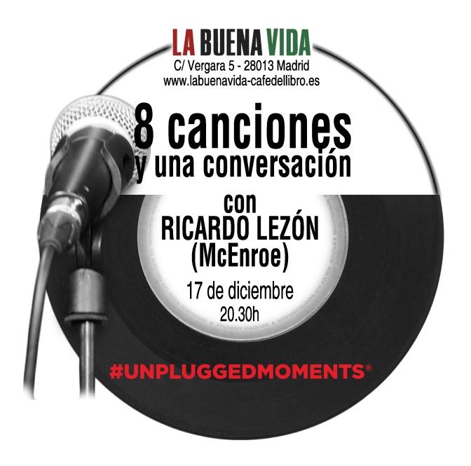 8 canciones y una conversación con Ricardo Lezón (McEnroe)