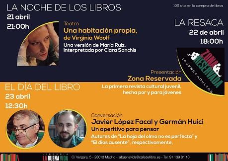 La noche, la resaca y el Día del Libro de 2017